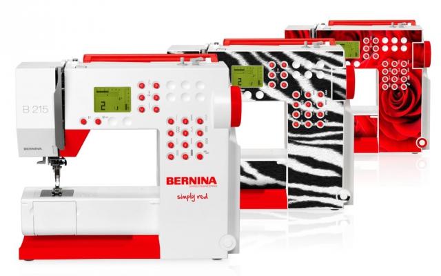 Bernina Simply Red