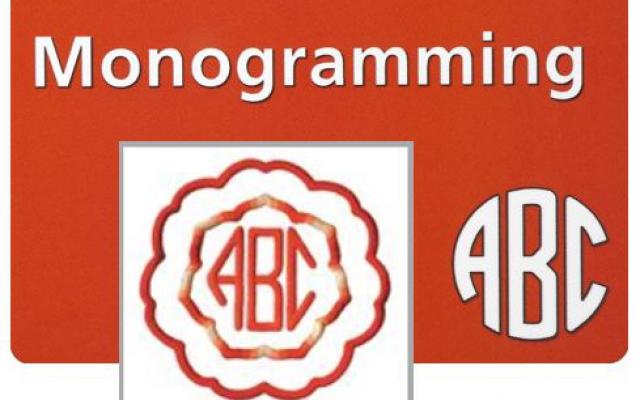 Monogramming